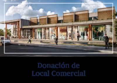 Donación de Local Comercial