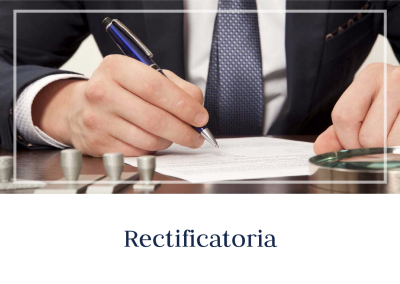 Rectificatoria